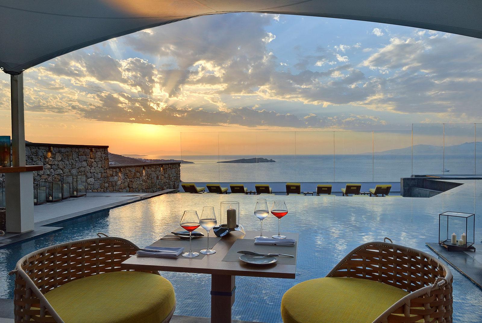 Myconian Korali Relais & Chateaux Hotel on Mykonos