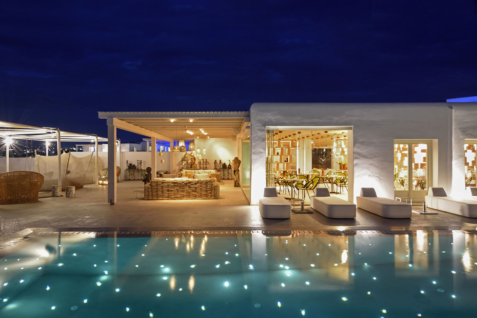 Myconian Naia Suites on Mykonos